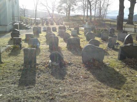 Drobak Graveyard.
