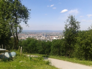 Banja Luka from the hills