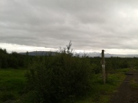 Hekla in the background